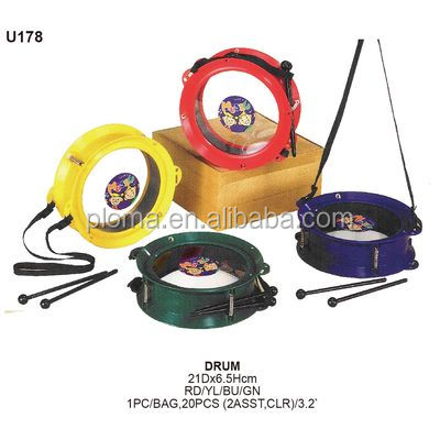 PLASTIC DRUM MUSICAL INSTRUMENT