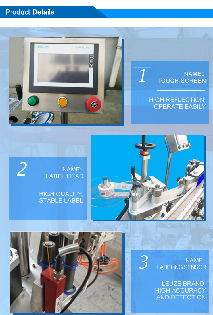 round bottle labeling machine 1