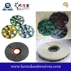 Granite polishing and grinding disc used for manual swing arm polishing machine
