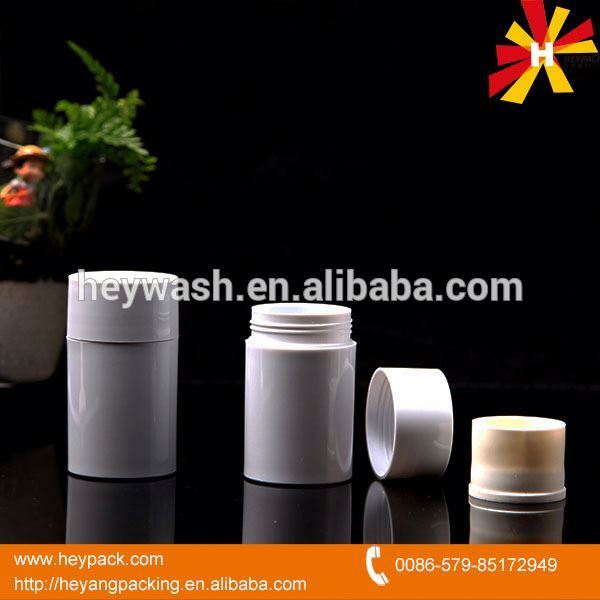 Hot selling all kinds of empty aluminum deodorant bottles with many colors