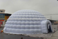 Outdoor event inflatale igloo dome tent