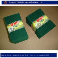 durable scouring pad rolls/sponge scouring pad