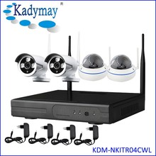 New Arrived !!! Plug and Play WIFI 4chs wireless cctv camera system