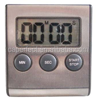Good quality stainless steel digital oven timer with alarm