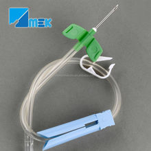 dialysis fistula needle fixed type and rotating type