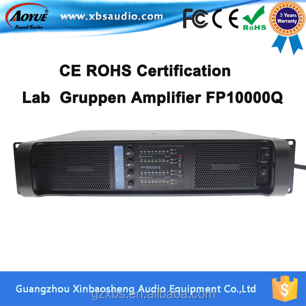 Lab Gruppen Professional High Equalizer FP10000Q crown power amplifier