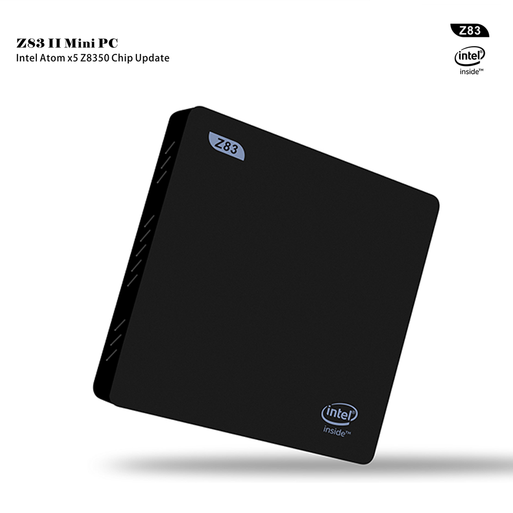 Intel Atom x5-Z8350 genuino windows10 Mini PC con 2 GB/32 GB, banda dual WiFi, y 1000 Mbps Gigabit LAN