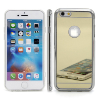 C&T Electroplate Mirror TPU Soft Gel Fitted Skin Case Back Cover for apple iphone 5S