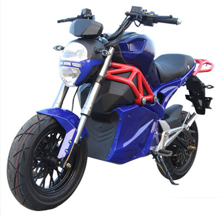 72V2000W Electric racing Motorbike,Adult Electric Powered Dirt Bike