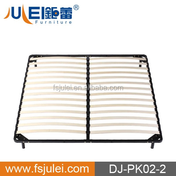 modern knock down steel metal double bed designs DJ-PK02-2