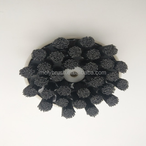turbine style abrasive nylon disc brush
