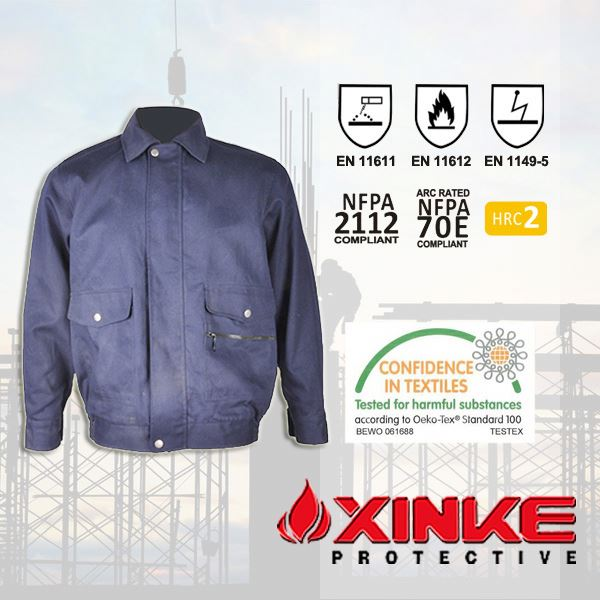 top quality oil field fire protection jacket in oil & gas industry
