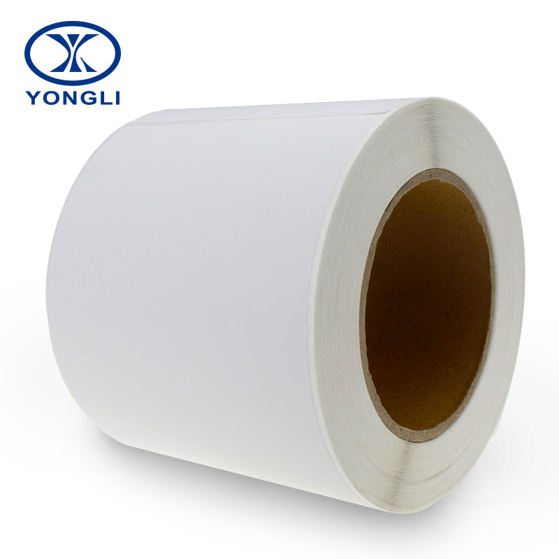 "Blank roll self adhesive <strong>label</strong> 4 "" x6 "" for inkjet printer"