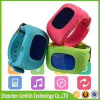 mini personal gps tracking watch /gps tracker kids with GPS position and calling SOS-Caref watch