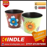 Kindle 2013 New polychrome wire flower pot plant stand with 31 years experience