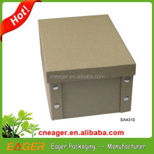 Brown kraft paper box office notes card boxes wholesale