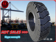 10 inch solid rubber tires for trailers 10.00-20 from Yantai Wonray
