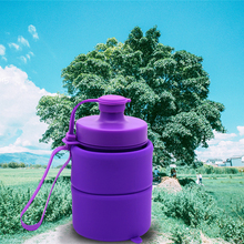 2017 kids water bottle travel silicone collapsible water bottle wholesale