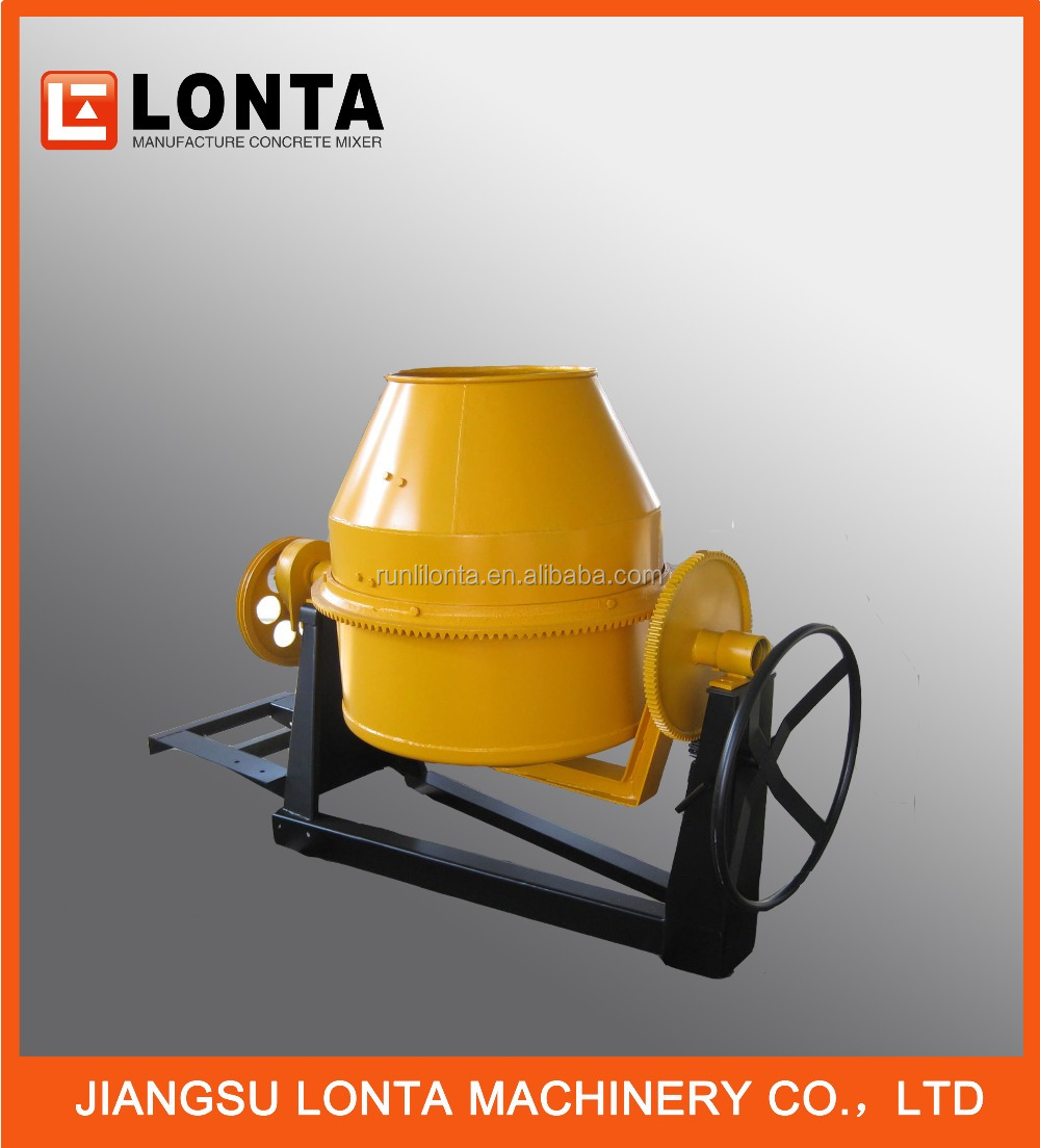 China Factory 350L 400L 450L 500L 600L Portable diesel concrete mixer
