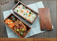 hot sale japanese wooden bread box natural