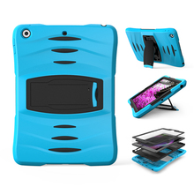 Best shock proof sleeve kid folio cover smart case for apple ipad i pad mini 1 2 3 4 air 12.9 pro 9.7
