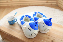 Dry Matter Younger Sister Small Buried Doll Cat Cotton Slippers Plush Cute Shoes