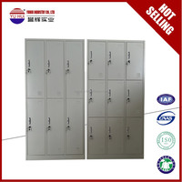 Luoyang Yuhui metal locker manufacturer / RAL7035 grey 2,4,6,9 door steel change clothes locker / metal wardrobe closet