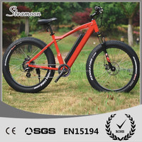 Steamoon 26 inch fat strong mid motor fat tire electric bicycle
