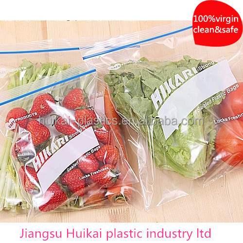 Food packaging plastic bag china factory fresh vegetables packaging plastic bag/plastic bread packaging bag