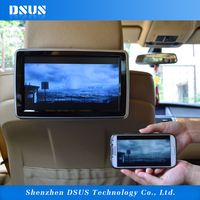 new technology 10.1 inch seat back DVD player for car with touch screen