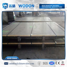 composite hardfacing plate weldable steel plate with wear resistant coating