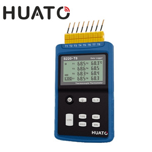 Lcd Screen Display K J E T N Type Temperature Sensor Thermocouple Multi Function Data Logger