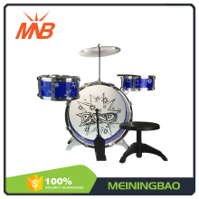 China cheap prices intelligence musical toy chair jazz drum set for kids