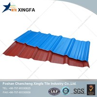 Bamboo Houses Tile Roof Clear Roof Tiles PVC Roof Sheet