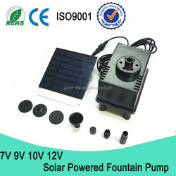 Mini Solar Pond Pump / Submersible Brushless Solar Powered Pool Pump / Pool Pump Solar