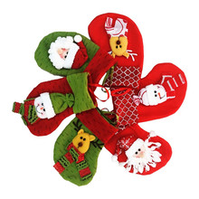 factory direct sell cute felt christmas stocking sock santa