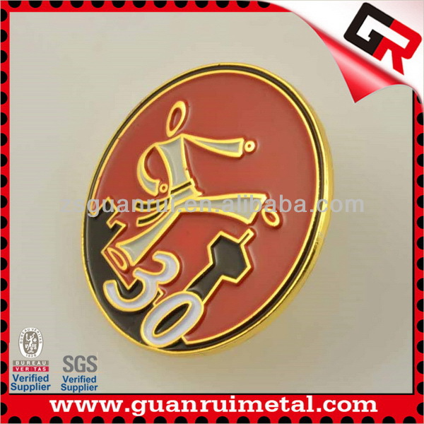 Super quality Best-Selling advertising metal badges