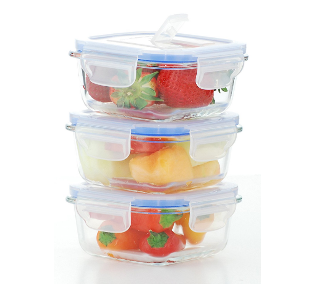 New design Vacuum food storage container set with cheapest price