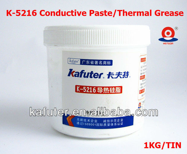 China LED Manufacturers Kafuter K-5216 Silicone Thermal Grease