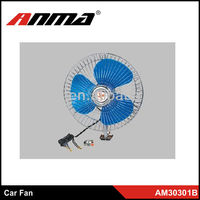 6 inch car accessories fans for car interior