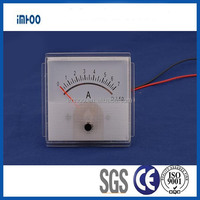 Analogue electrical panel meters60x60 panel meter Ammeter