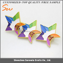 Customized Reasonable Price Factory Supply five star lapel pin