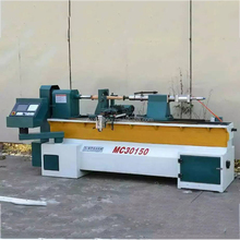 Fast speed automatic cnc wood turning copy lathe machine price