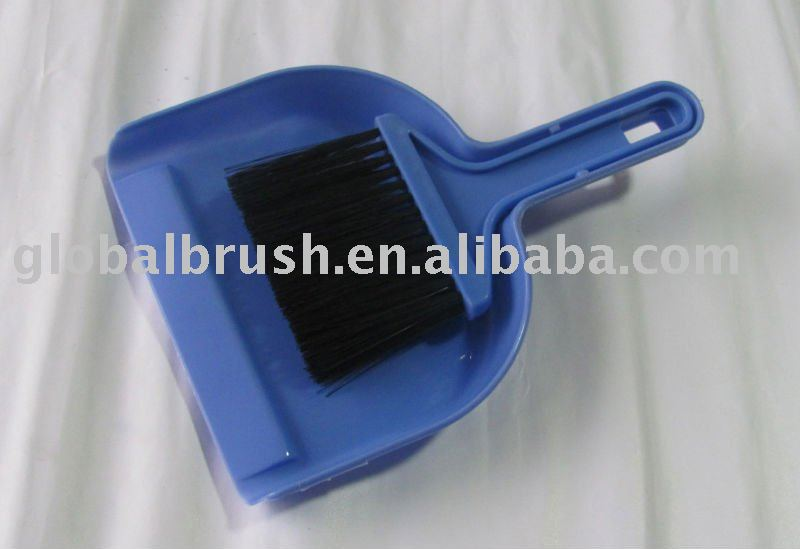 HQ0444 smart mini plastic cleaning dustpan broom/computer brush & dustpan