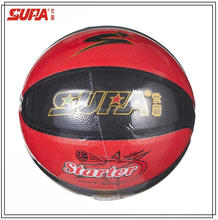 High Quality Rubber Basketball/8 Panels PU Laminated Rubber Basketball