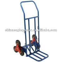 Three-wheel climbing hand trolley