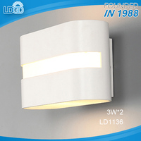 High Luminous Efficiency 3w cob chip 2 warranty discount wall lamps led mirror light bathroom vanity light