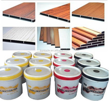 rotogravure printing ink for aluminum plate with wooden pattern