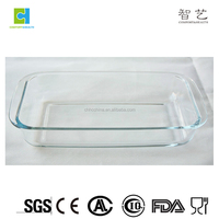 2.2L Rectangular Heat Resistant Glass Bake Dish