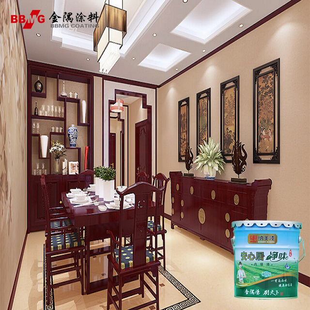 Acrylic washable latex paint for interior wall house coating